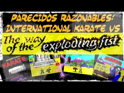 Parecidos Razonables: International Karate (System 3) vs The Way of Exploding Fist (Melbourne House)
