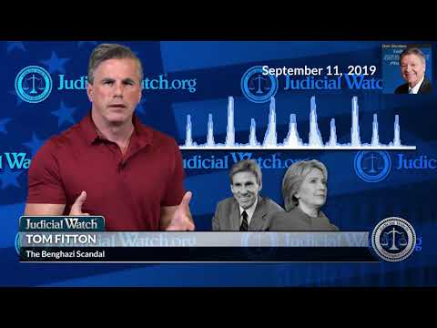 REMEMBER: It Was Judicial Watch That Broke Open The Benghazi Scandal | Tom Fitton