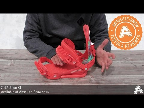 2016 / 2017 | Union ST Snowboard Bindings | Video Review
