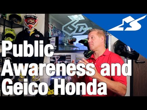 The Story of 6D Helmets (Part 3): Public Awareness & Testing With Geico Honda