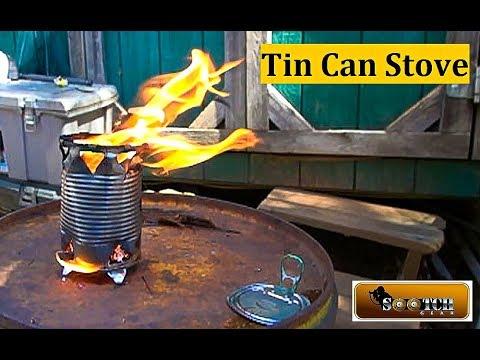 Easy DIY Tin Can Survival Stove