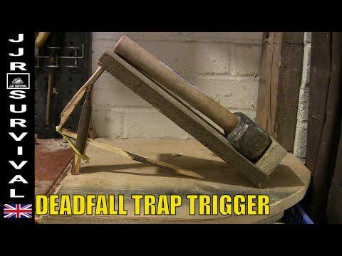 Survival Deadfall Trap Trigger