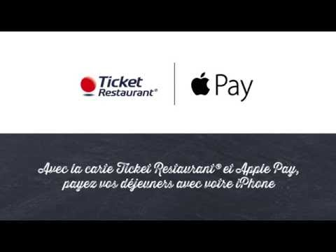 Carte Ticket Restaurant® et Apple Pay / Edenred France