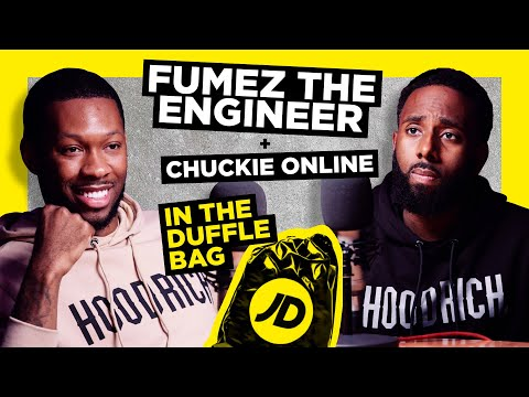 jdsports.co.uk & JD Sports Promo Code video: FUMEZ THE ENGINEER NEVER FAKED IT   JD IN THE DUFFLE BAG WITH CHUCKIE ONLINE