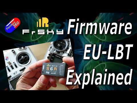 RC Quick Tips: What is FrSky EU LBT and non EU firmware all about? - UCp1vASX-fg959vRc1xowqpw