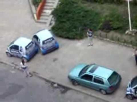 Parkowanie jest trudne. Zwłaszcza smartem