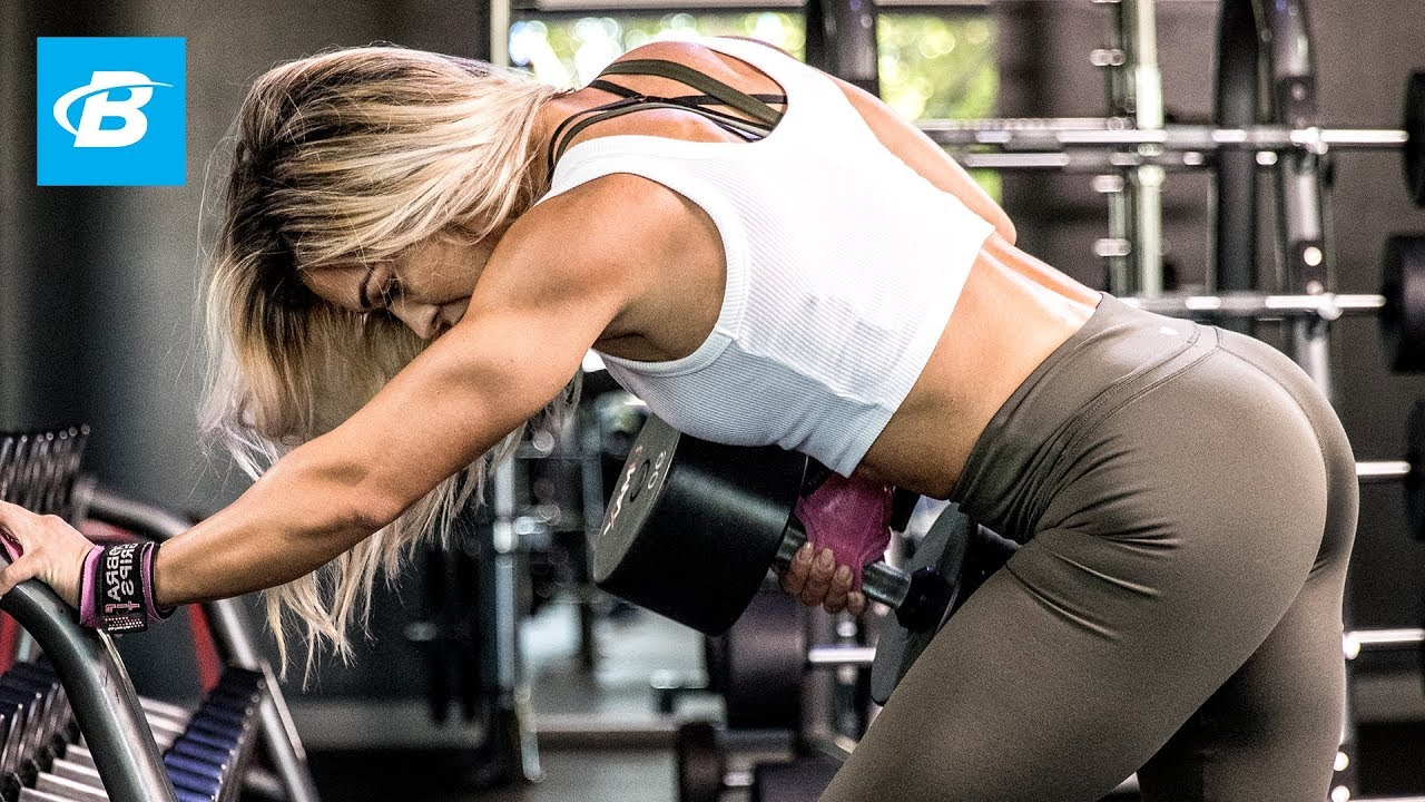 Cassandra Martin's Heavy Back Workout