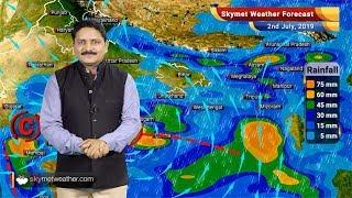 2 जुलाई का मौसम पूर्वानुमान: मुंबई, नागपुर, अकोला, सूरत, इंदौर सहित मध्य भारत में जमकर बरसेगा मॉनसून