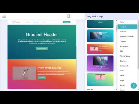 Colorful Web Page Theme   DirectM4