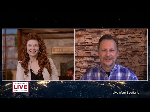 Charis Daily Live Bible Study: Freedom to Share the Gospel - Chris Cree - January 13, 2021