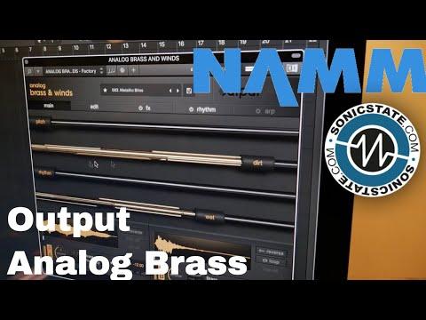 NAMM 2018 Output Analog Brass First Look