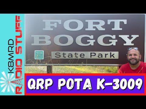 QRP POTA | Fort Boggy State Park K-3009
