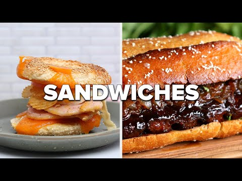 """How Many Sandwiches Would You Recreate From Here"""" ? Tasty Recipes"""