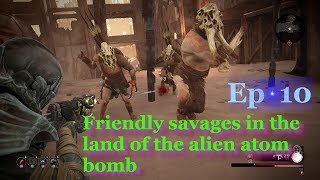 Remnant From the Ashes The Scouring Wastes - The Ardent Temple - the savage and alien enemies