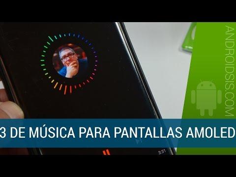 3 Reproductores de música para pantallas AMOLED