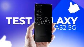 vidéo test Samsung Galaxy A52 par Presse Citron