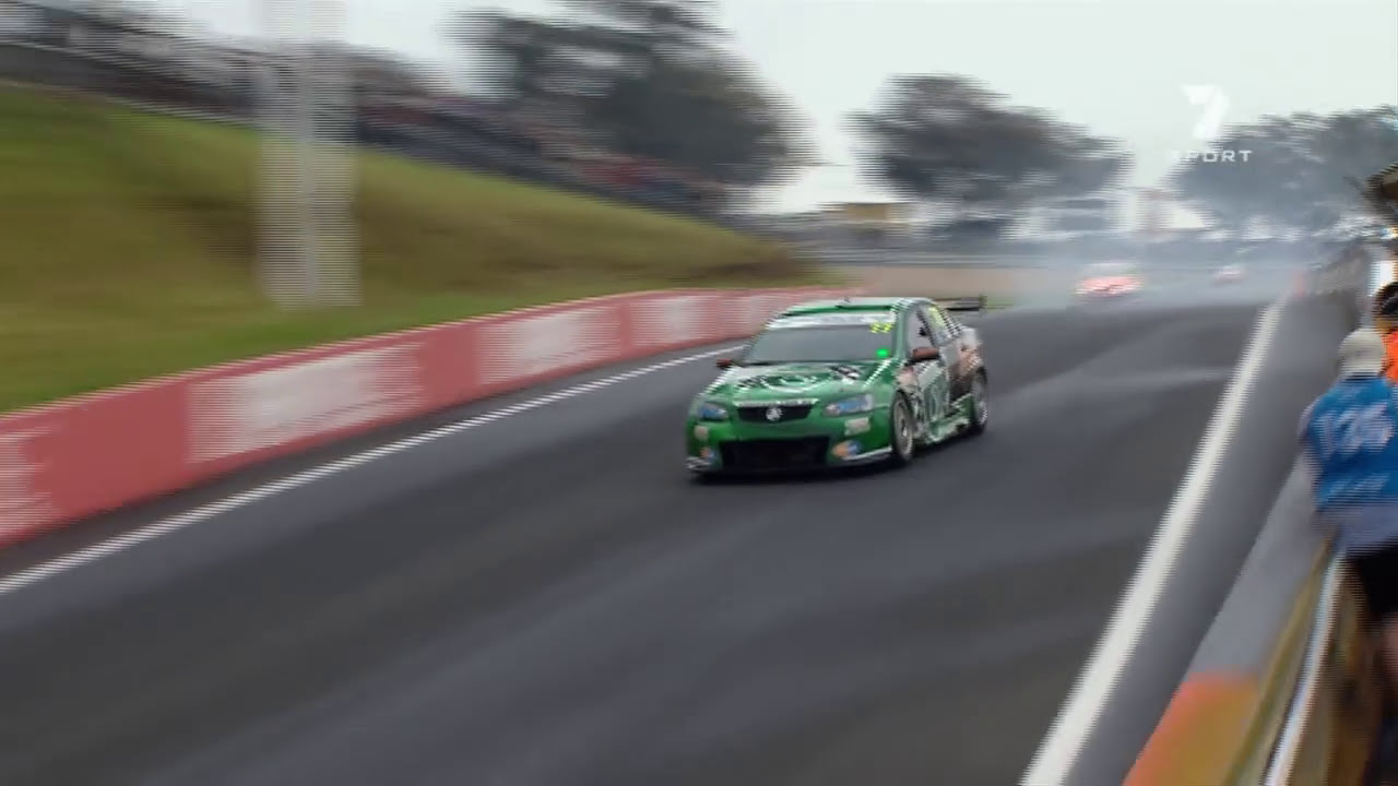Cameron Waters Spins Bathurst