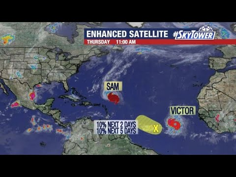 Hurricane Sam and Tropical Storm Victor Update; September 30, 2021