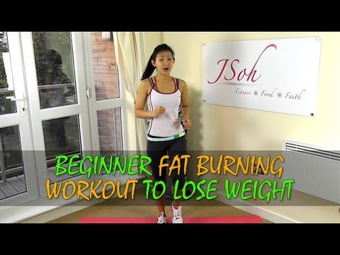 Beginner Fat Burning Workout to Lose Weight in 4 weeks (Home Exercises) - UCnP_T4dI2JYG7BnH42PC9qw
