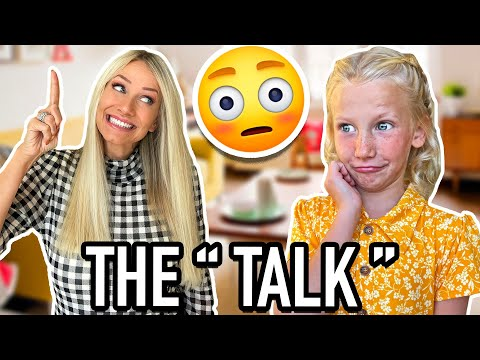 """The """"TALK""""   Parents Explain The Birds & The Bees to PresLee"""