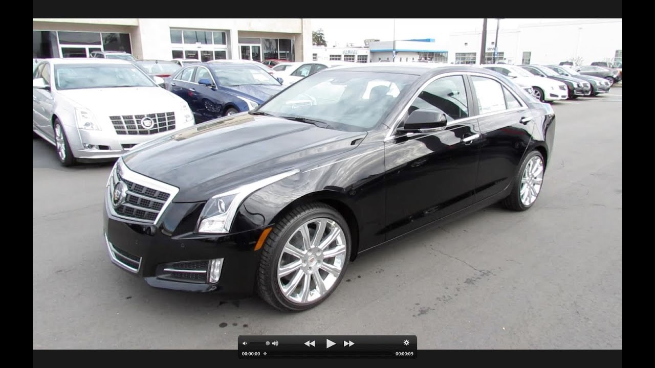 2013 Cadillac Ats Premium 3 6 2 0t Start Up Exhaust And In