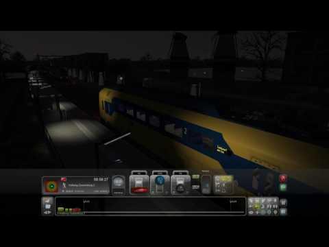 06 Sprinter Amsterdam C  Zandvoort aan ZeeTrain Simulator 2017 Scenarios