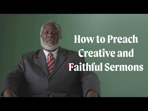 How to Preach Creative and Faithful Sermons