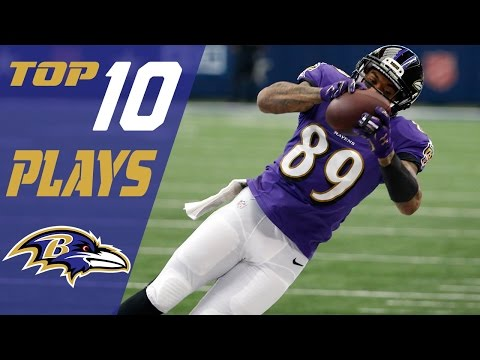 Ravens Top 10 Plays of the 2016 Season | NFL Highlights