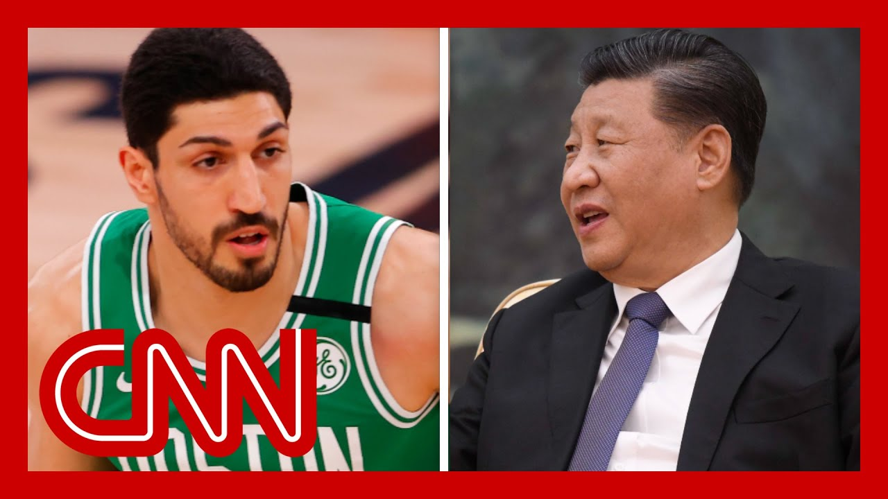 NBA's Enes Kanter calls out China's government again