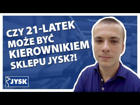 Czy 21-latek może być kierownikiem sklepu JYSK?! || JYSK Polska