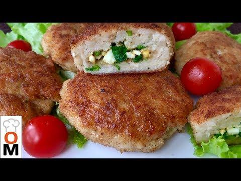 Сочные Мясные Зразы с Яйцом и Зеленым  Луком | Chicken Rissoles Recipes |Ольга Матвей