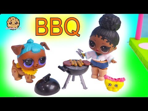 LOL Surprise BBQ ! Backyard Barbecue Party - Cookie Swirl C Toy Video - UCelMeixAOTs2OQAAi9wU8-g