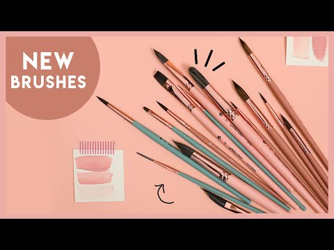 SO MANY NEW PRODUCTS + A BRUSH DEMO