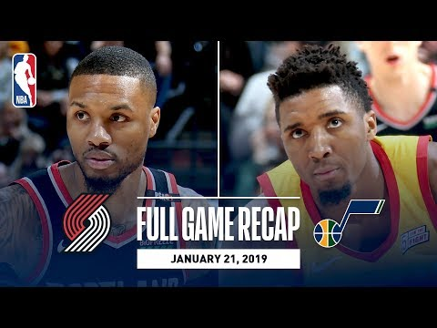 Full Game Recap: Trail Blazers vs Jazz | Nurkic & Lillard Lead POR