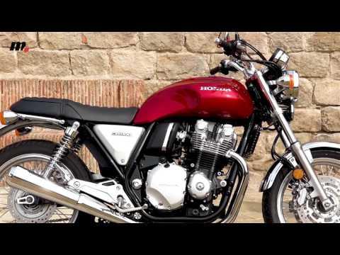Honda CB 1100 EX/RS | Presentación / Test / Review en español | motos.net