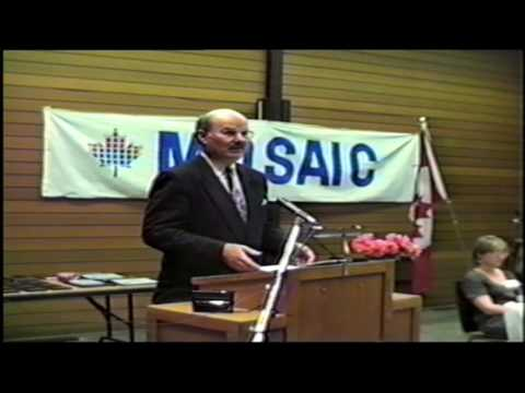 MOSAIC's 1994 Annual General Meeting (Premier Mike Harcourt's speech)