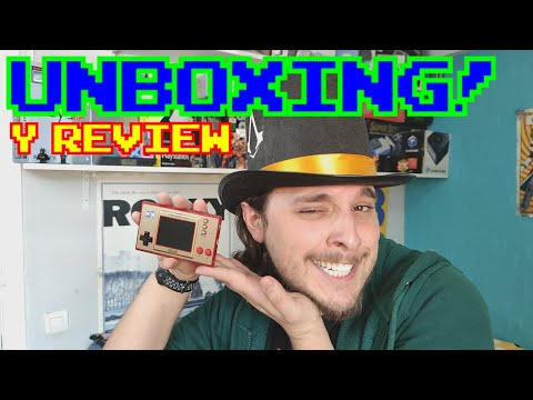 NINTENDO GAME & WATCH || UNBOXING Y REVIEW