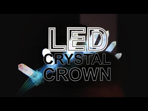 LED Crystal Crown