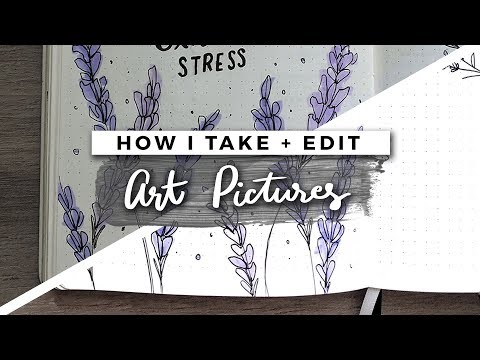 How I Photograph & Edit Art Pictures for Instagram | TIPS & TRICKS