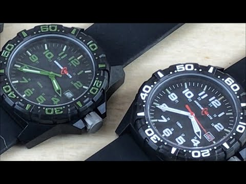 FIRST LOOK: New Armourlite Operator Watches - 7,000 Vickers Strong BUT Light-Weight