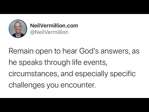 Remain Open In The Midst Of Your Activity - Daily Prophetic Word