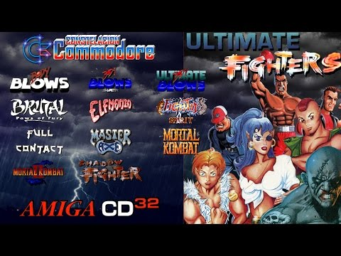 Ultimate Fighters CD32 Compilation | Amiga CD32