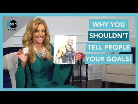Why You Shouldn't Tell People Your Goals