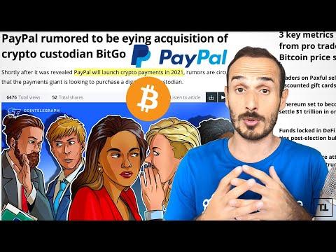Tudor Jones + PayPal = BITCOIN Moon