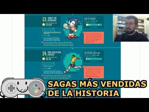 LAS SAGAS DE VIDEOJUEGOS MÁS VENDIDAS DE LA HISTORIA