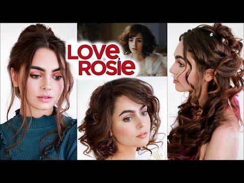 """""""Love Rosie"""" Makeup & Hairstyles Tutorial"""