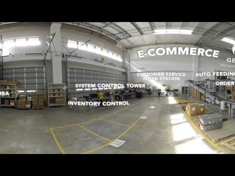 360 Virtual Tour of GEODIS Shanghai eCommerce Operations