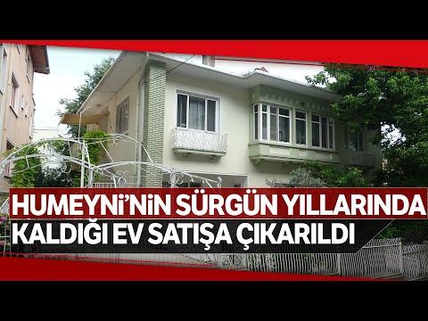 İran'ın Eski Ruhanî Lideri Humeyni'nin Bursa'da Kaldığı Ev Satılığa Çıkarıldı