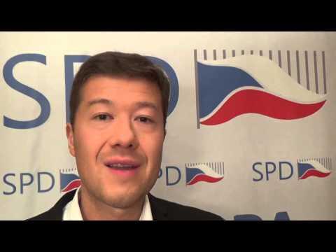 Tomio Okamura: MEGA DEMONSTRACE - Nedůvěra vládě