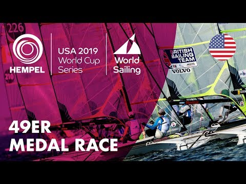 49er Medal Race | Hempel World Cup Series: Miami, USA